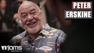 VFJams LIVE!   Peter Erskine   Interview