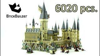 Lego Hogwarts Castle - Second Biggest set Ever 6020 - Harry Potter 71043 - Lego Speed Build