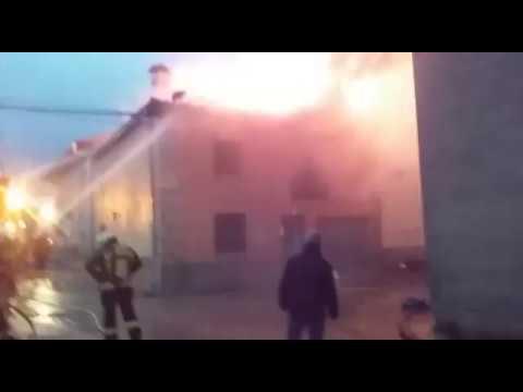 Imágenes del incendio. / SN