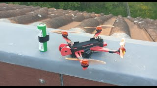 NanoLongRange 3D printed Test Flug
