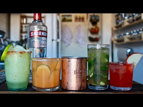 Video Beginners Guide to Mixed Drinks (Featuring the Moscow Mule)
