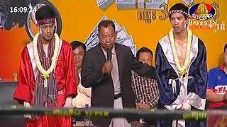 យ៉េន ឌីណា Vs ហ្វានិមិត្ត, Yen Dina, Cambodia Vs Fanimit, Thai, Khmer Boxing 20 october 2018