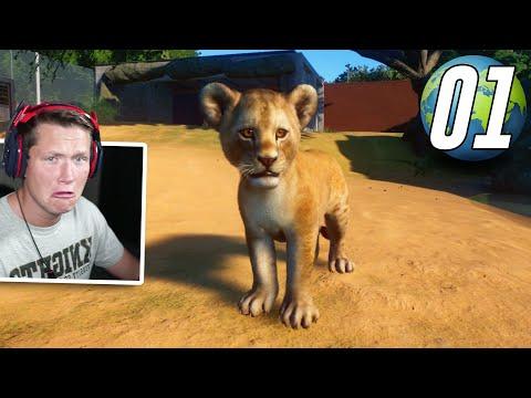 Planet Zoo - Part 1 - LION CUBS!