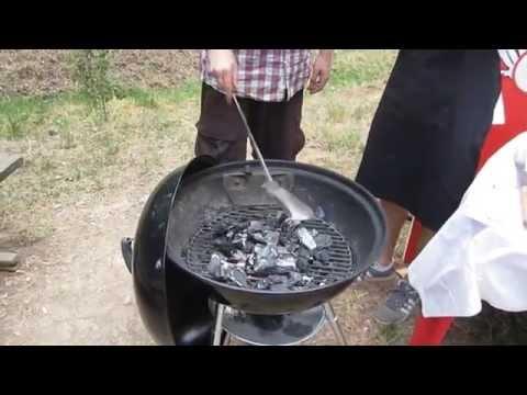 Come accendere il barbecue con Carbonella di legna Fochista