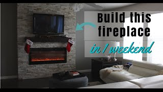 DIY of the Week: Build Your Own Fireplace