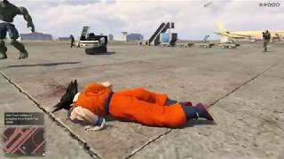 GTA 5 Goku VS HULK