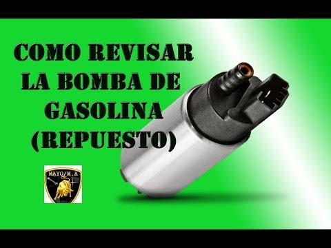 Como revisar la bomba de gasolina (repuesto)