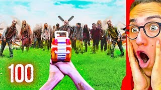 Reacting To NERF VIDEO GAME ZOMBIES IN REAL LIFE!