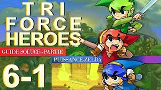 Soluce Tri Force Heroes : Niveau 6-1