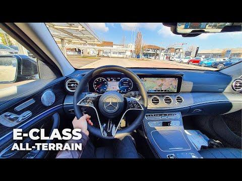 New Mercedes E-Class All-Terrain 2021 Test Drive Review POV