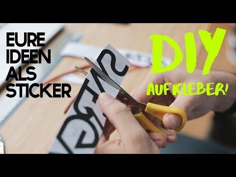 DIY Aufkleber Tutorial  - Wie ihr einfach individuelle Decals erstellen könnt!