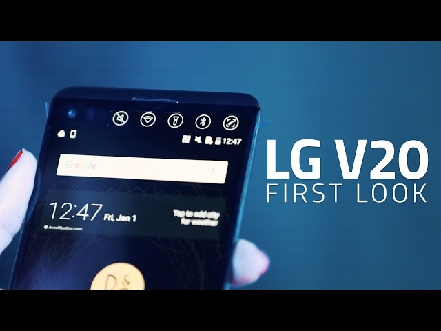 LG V20 Launched in India: Price, Release Date