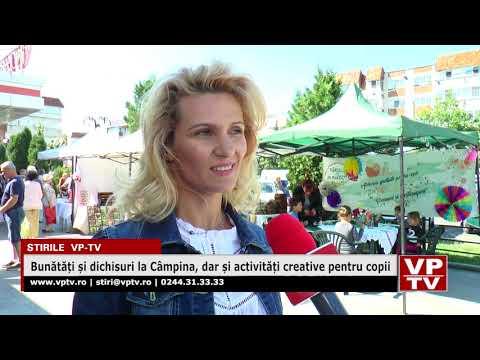 Bunătăți și dichisuri la Câmpina, dar și activități creative pentru copii