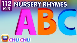 ABC Song and Many More Nursery Rhymes for Children | Popular Kids Songs by ChuChu TV