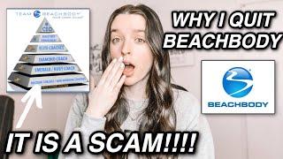 Why I Quit Beachbody | THE TRUTH | #antimlm