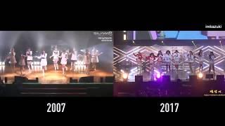 SNSD - Ooh La La ! 2007 VS 2017 #GIRLS6ENERAT10N #소녀시대10주년