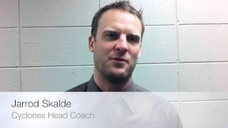 Jarrod Skalde on Cyclones win!!