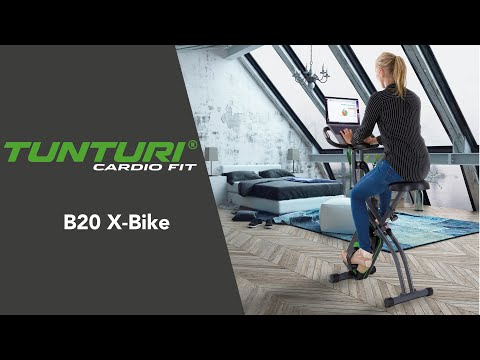 Promovideo: Skládací rotoped TUNTURI Cardio Fit B20 X-Bike