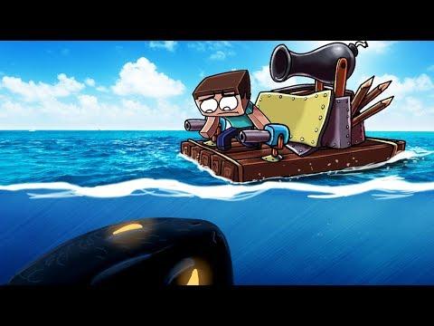 Minecraft | BOAT FORT VS UNDERWATER MONSTER! (Boat vs Monster Challenge)