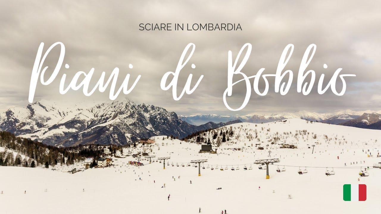 Una giornata sugli sci ai Piani di Bobbio (LC), Lombardia
