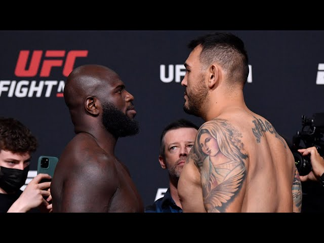 UFC fans noticed that the face-off between Jairzinho Rozenstruik and Augusto Sakai exposed a major error in their UFC profiles