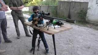 Юный стрелок, Remington 700 308 Win и глушитель Ase Utra SL7