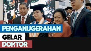 Puan Maharani Terima Penganugerahan Gelar Doktor HC di Undip Semarang