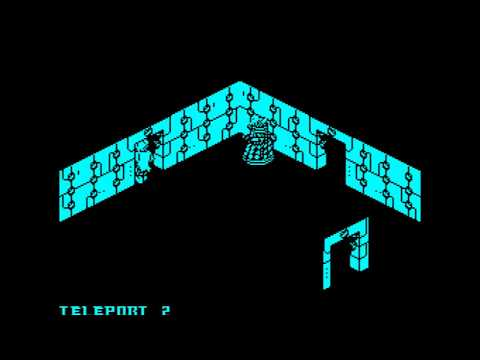 Dr Who - Surrender Time Walkthrough, ZX Spectrum