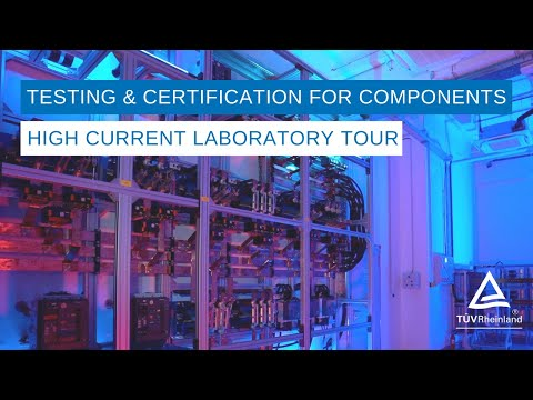 Testing & Certification for Components   High Current Laboratory Tour  – Budapest, Hungary