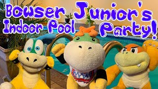 Bowser Juniors Indoor Pool Party! - Super Mario Richie
