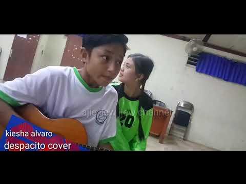 "BTS tendangan garuda part7 "" despacito cover ""kiesha alvaro dan nabila"" sambil nunggu take yihuuuuu"