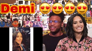 DEMI LOVATO WITHOUT AUTOTUNE (VOCAL FIRE) | Reaction