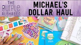 Michaels 40 CENT Haul - Kids Stuff