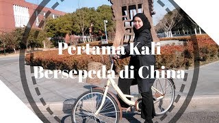 preview picture of video 'WINTER HOLIDAY: Pertama Kali Bersepeda di China'