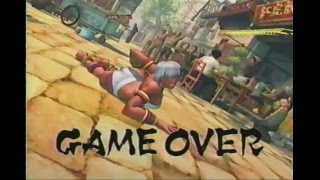 Game Over - Ultra Street Fighter IV