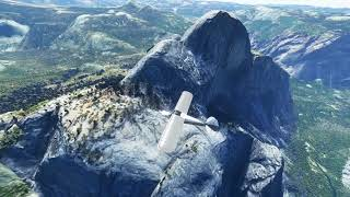 Yosemite Valley (California, USA) Scenery Mod in Microsoft Flight Simulator 2020