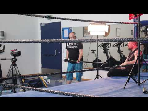 My Røde Reel The Wrestler BTS