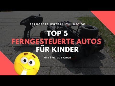 Top 5 ferngesteuerte Autos für Kinder 🔵 Ab 3 Jahren & Ideal als Geschenk 👼