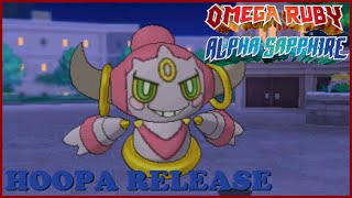 Hoopa  - (Pokémon) - How to Get HOOPA LEGIT In Pokemon Omega Ruby and Alpha Sapphire - HOOPA RELEASE EVENT!