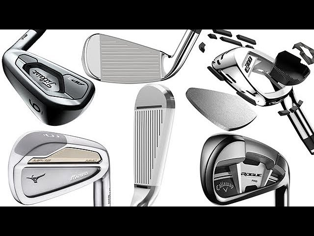 2018 best golf clubs: Best new irons