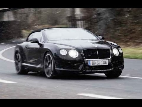 evo Diaries- Bentley Continental V8 GTC video review