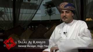 preview picture of video 'Alwan Travel & Tourism General Manager Talal Al Rawahi on Oman's tourism industry'