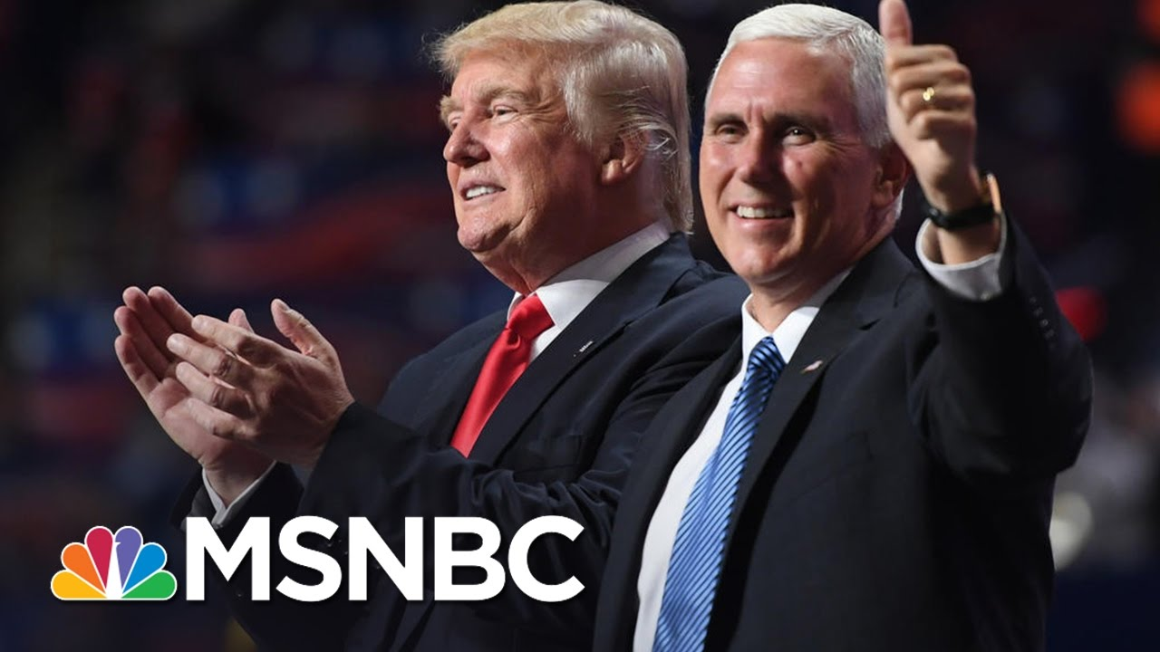 Mike Pence 'Did His Job For The Ticket' | MSNBC thumbnail