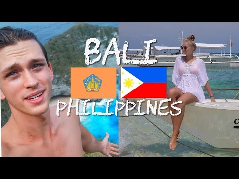 Travel Philippines Vs Bali, Indonesia ? / BEST TRAVEL DESTINATION 2018 ?