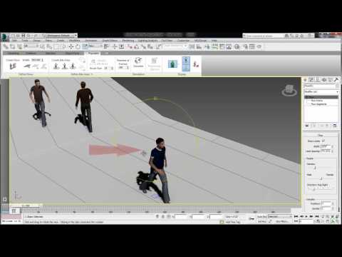 Tips Tricks Autodesk Ds Max Design  Populate Tips  Creating Flows And Intersections Play