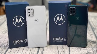 Motorola Moto G Stylus (2021) & Motorola Moto G Stylus 5G Real Review