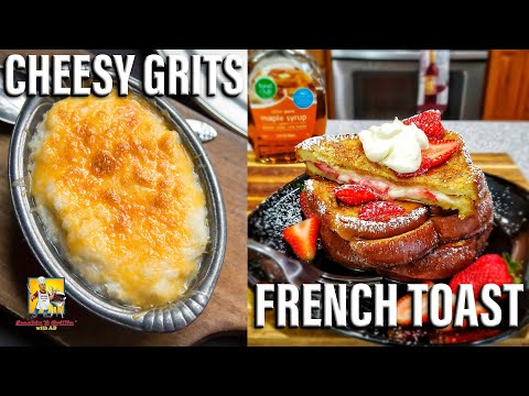 Cheesy Grits and French Toast | #BreakfastwitAB