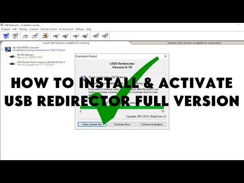 How To Install & Activate USB Redirector Full Version For FREE!! - [romshillzz]