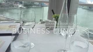 The Lighthouse Restaurant & Rooftop Bar Business Lunch
