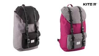 """Рюкзак молодежный Kite Urban K18-860L-2 от компании Интернет-магазин """"Радуга"""" - школьные рюкзаки, канцтовары, творчество - видео"""